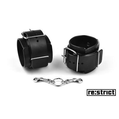 RE:STRICT Поножи (широкие, матовые) M/L - черный – фото 1