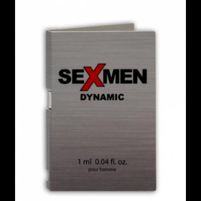 Духи з феромонами чоловічі SEXMEN DYNAMIC, 1 ml (25490) – фото 1