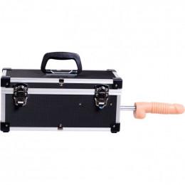 Портативная секс-машина Diva в чемодане, с пультом и насадками Vac-U-Lock
