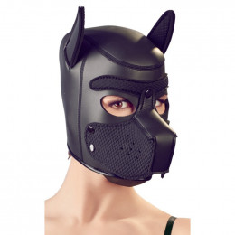 БДСМ маска собаки, черная, Bad Kitty