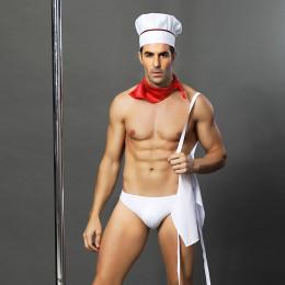 Костюм сексі кухаря, 4 предмета S-L (One size) – фото
