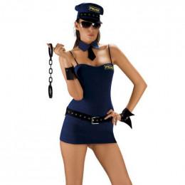 Костюм полицейской Roxana для ролевой игры