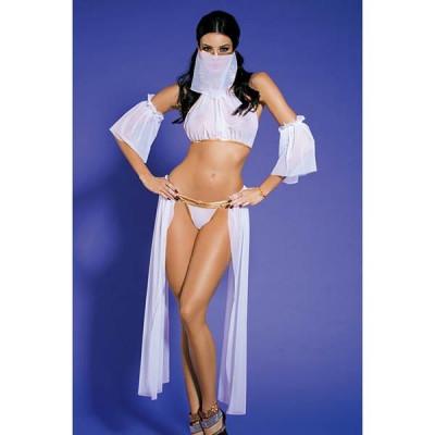 Игровой костюм Восточная красавица - белый – фото 1