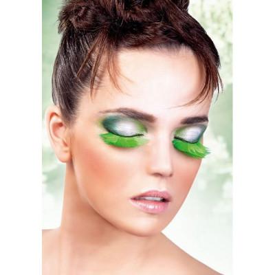Реснички-перья светло зеленые (6402) – фото 1