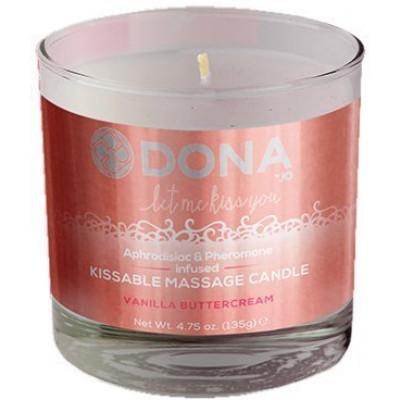 Свічка масажна Dona Candle - Vanilla (21549) – фото 1