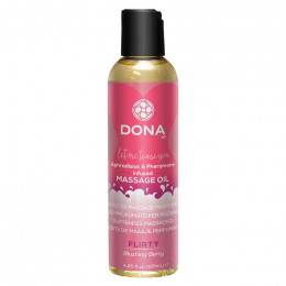 Массажное масло Dona Scented Massage Oil Flirty Aroma Blushing Berry, 110 мл