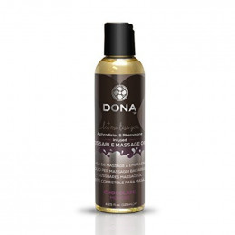 Массажное масло DONA со вкусом Шоколадный мусс