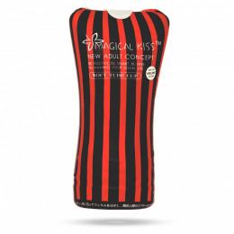 Мастурбатор в колбе черного цвета Magical Kiss Soft Tube Cup