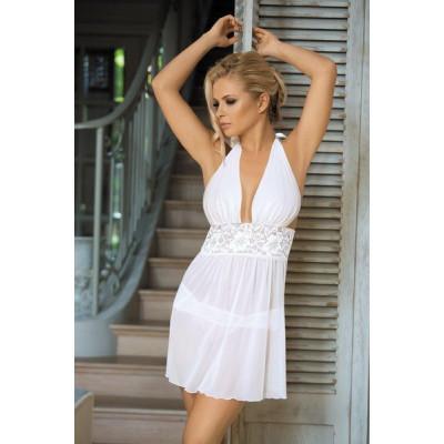 Сорочка белая  Нежный Ангел, S/M - белый – фото 1