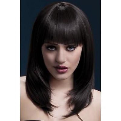 Перука шатен FEVER Tanja Wig - чорний – фото 1
