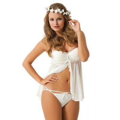 Бебидолл для невесты - белый – фото 1