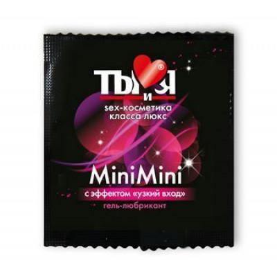 Гель-лубрикант пробник MiniMini, 4 мл (7088) – фото 1