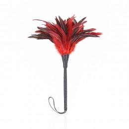 Мітелочка з пір'ям бордо  – фото