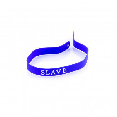 Нашийник-силіконовий браслет SLAVE  - різні – фото 1