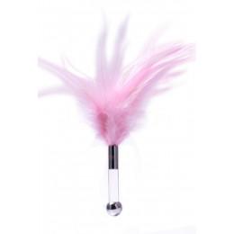 Пушок на короткій пластикової ручці для ласк ZALO – фото