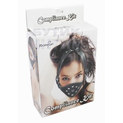 Збруя на голову Compliance Kit Roomfun - чорний – фото 1