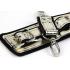 Набір: золоті наручники маска і батіг - золотий – фото 3