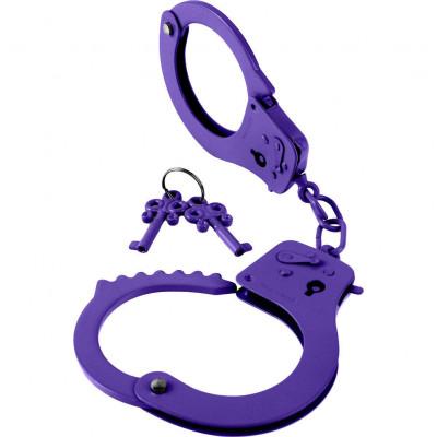 Наручники фиолетовые Fetish Designer cuffs - фиолетовый – фото 1