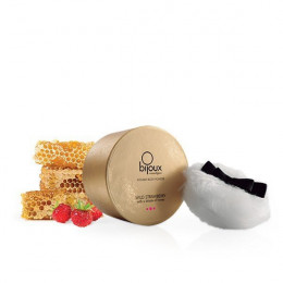 Мерехтлива пудра для тіла, суниця і мед, Bijoux Indiscrets – фото