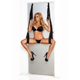Система для фіксації до дверей Whipsmart Door Swing, чорна – фото