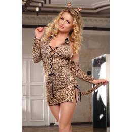 Костюм леопарда Sunspice 3 предмета, коричневий, XL – фото
