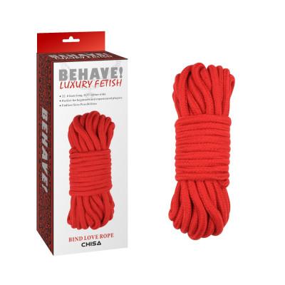 Шибари - Bind love rope красная - красный – фото 1