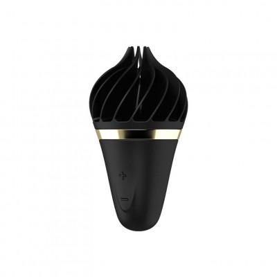 Клиторальный стимулятор Satisfyer Sweet Treat Black/Gold - золотой/черный – фото 1