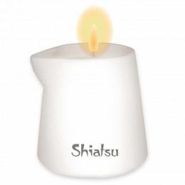 Массажная свеча SHIATSU Малина и Ванильный Крем, 130 г – фото