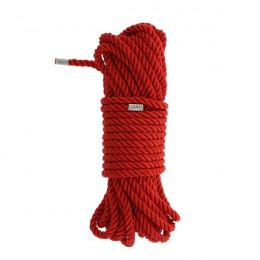 Веревка для бондажа BLAZE DELUXE, красная – фото