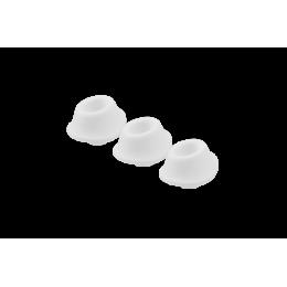 Набор насадок на Womanizer Premium и Classic белые, размер М – фото