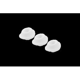 Набор насадок на Womanizer Premium и Classic белые, размер S – фото