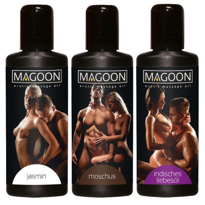 Набор массажных масел - Magoon Massage-le Set, 3 флакона по 50 мл (37004) – фото 1