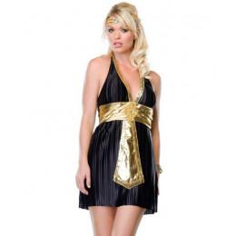 Костюм Богини Нила платье, черное, S/M – фото