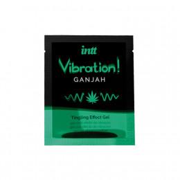 Жидкий вибратор для двоих Intt Vibration Ganjah, 5 мл (сашет) – фото