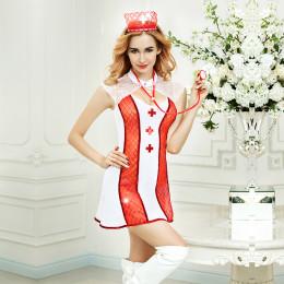 Костюм медсестры, 4 предмета (One size) – фото