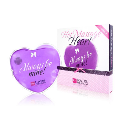 Горячее сердце для массажа Loverspremium Hot Massage Heart XL BE MINE (34366) – фото 1
