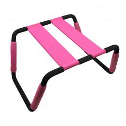 Секс стульчик Romfun, розовый – фото