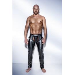 Эротические штаны Noir Handmade с ремнями мужские, размер S – фото