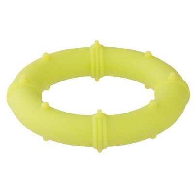 Ерекційне кільце Stimu Ring салатового кольору - салатовий – фото 1