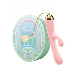 Вібратор вагінально-кліторальний ZALO Ichigo, рожевий – фото