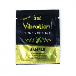 ПРОБНИК Рідкий вібратор для двох Vibration Vodka Intt, 2 мл – фото