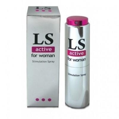 Спрей для жінок Lovespray Active, 18 мл (22289) – фото 1