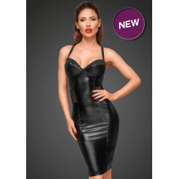 Сексуальне облягає чорне плаття Noir Handmade 2XL – фото