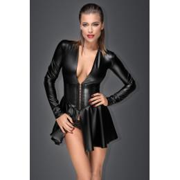 Сексуальное черное платье с мини юбкой Noir Handmade M – фото